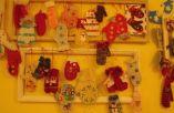 Kalėdų Senelio pirštinės