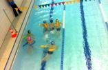 Plaukiam...